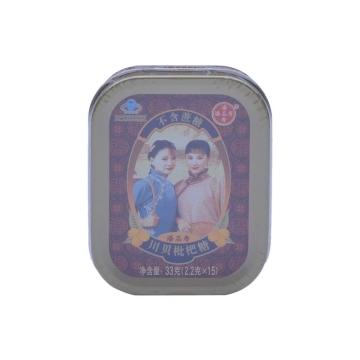 【瀚银通、健保通】潘高寿 川贝枇杷糖 铁盒 2.2g*15粒