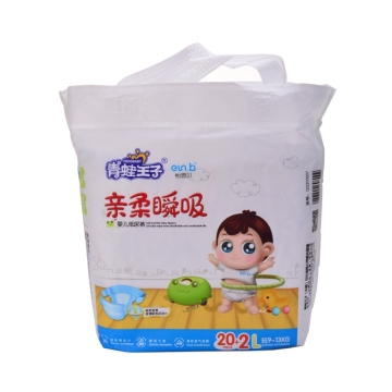 青蛙王子 亲柔瞬吸婴儿纸尿裤L(20+2片)轻薄柔软 舒适耐用 防渗漏