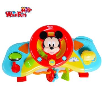 英纷 米奇宝宝方向盘 6m+ 0704-NL 0-3岁 音乐早教益智儿童玩具
