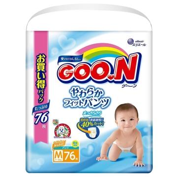 大王(维E)纸尿裤M76*3