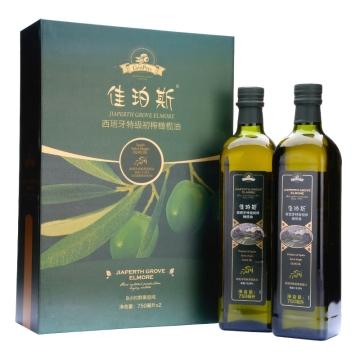 佳珀斯西班牙特级初榨橄榄油 750ml*2