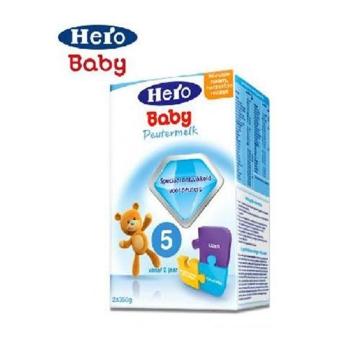 荷兰Hero Baby美素奶粉5段(2周岁以上宝宝)700g(2盒装)