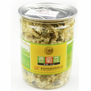【瀚银通、健保通】康美 康美贡菊 塑瓶50g 安徽