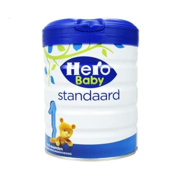 荷兰HeroBaby天赋力奶粉白金版1段(0-6个月)800g*2