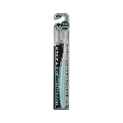 狮王HITECT柔和按摩牙刷 高密度丘型柔软刷毛抗敏感牙刷