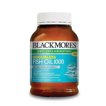 澳洲Blackmores澳佳宝无腥味深海鱼油400粒 *2瓶