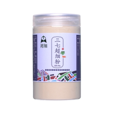 三七超细粉 磨砂盖塑瓶300g 云南