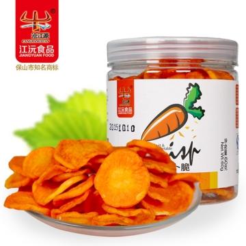 胡萝卜脆60gX4瓶 色泽诱人 入口酥脆 回味香浓 保质期360天