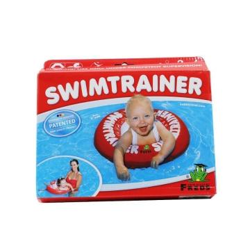 德国Freds swimtrainer游泳圈(3个月-4岁宝宝) 红色