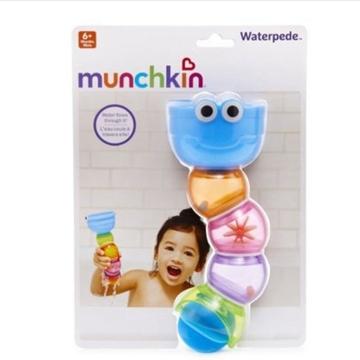 美国Munchkin麦肯齐 儿童洗澡毛毛虫戏水玩具 *2个