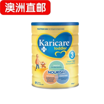 【澳洲直邮】Karicare/可瑞康普通装婴幼儿牛奶粉3段 12个月以上 900g*6 包邮