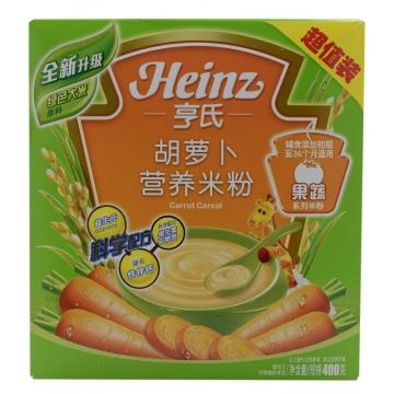 亨氏胡蘿卜營養米粉 400g