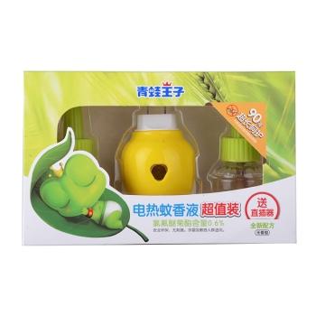 青蛙王子電蚊香液超值裝無香型(送直插器) 45ml*2瓶送1器