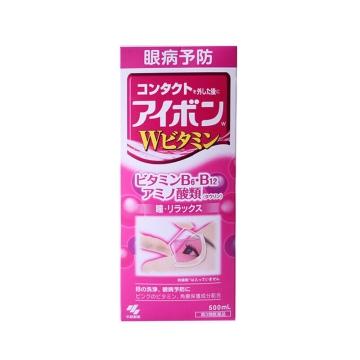 日本KOBAYASHI小林制药洗眼液保护角膜预防眼病缓解疲劳 粉色 500ml/瓶