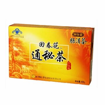 【健保通】御生堂肠清茶回春花牌通秘茶 2.5g*16袋