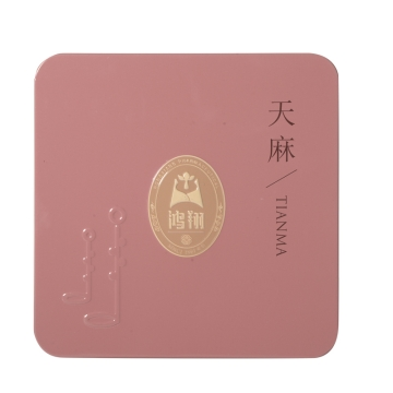 天麻 鸿翔原皮一级铁盒250g 云南