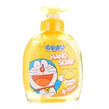 哆啦A梦 儿童柠檬洗手液 280ml 天然植物成分 洁净滋养 温和不刺激