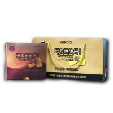 玛叔 青稞口味玛咖饼干120g(20g*6片)