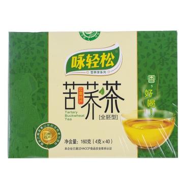【瀚银通、健保通】咏轻松苦荞茶(全胚茶) 160g(4g*40袋)