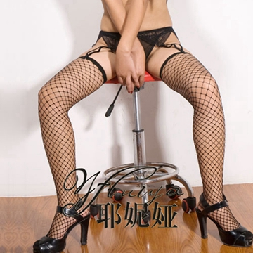 黑色诱惑之网眼袜 性感网眼丝袜 情趣丝袜 女士情趣