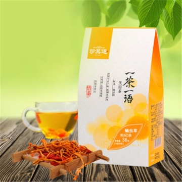 蛹虫草枸杞茶36克(6克x6包)
