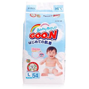 【保税区发货】日本进口 GOON 大王维E系列纸尿裤 L54片 2包包邮