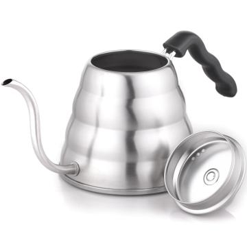 hario同款进口手冲壶1200ml 不锈钢细口咖啡手冲壶 咖啡师必备款