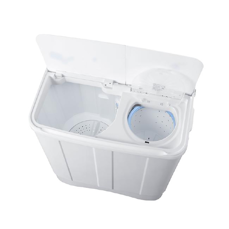 海尔统帅洗衣机/9公斤玻璃盖双缸半自动洗衣机tpb90-1157js