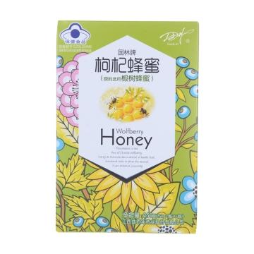 【瀚银通、健保通】国林牌枸杞蜂蜜(椴树蜂蜜) 250g