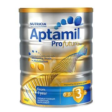 【澳洲直邮】Aptamil/爱他美白金版婴幼儿配方奶粉3段 1岁以上宝宝 900g*3罐 包邮