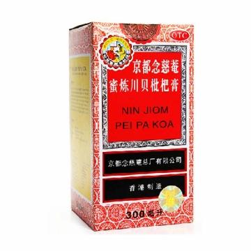 【瀚银通、健保通】京都念慈菴   蜜炼川贝枇杷膏 300ml*1瓶