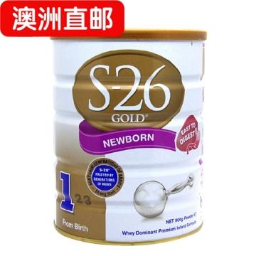 【澳洲直邮】惠氏金装S26婴幼儿奶粉1段 0-6个月 900g*6罐 包邮