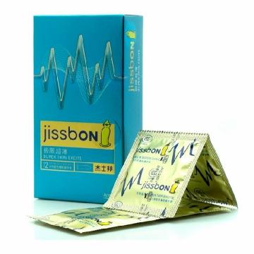杰士邦避孕套 天然胶乳橡胶保险安全套 套套
