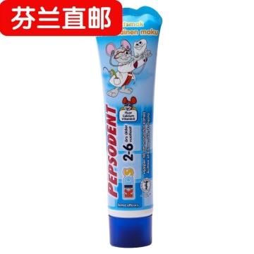 【芬兰直邮】 Pepsodent Kids 低氟 水果味儿童牙膏 2-6岁 50毫升