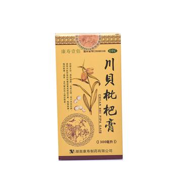 【瀚银通、健保通】康寿壹佰 川贝枇杷膏 300ml*1瓶