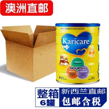 【澳洲直邮】Karicare/可瑞康普通装婴幼儿牛奶粉1段 0-6月 900g*6 包邮
