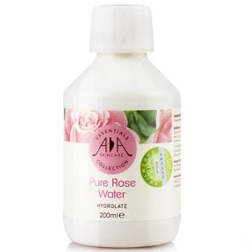 英国AA网纯玫瑰花水200ml化妆爽肤水喷雾白皙嫩肤 补水保湿