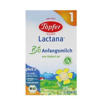 【海外直采 国内现货】Topfer/特福芬 有机奶粉1段 600g