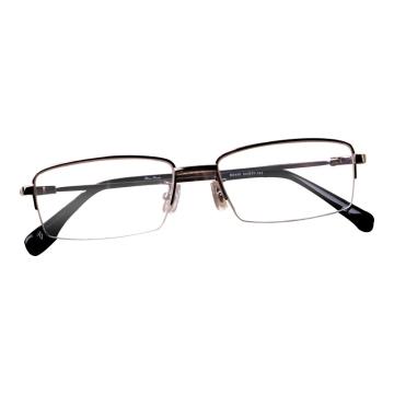 邦铌丹顿钛眼镜镜架非球面单光散光树脂黄绿高透膜镜片近视眼镜验光配镜