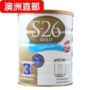 【澳洲直邮】S-26 GOLD 3惠氏三段婴幼儿奶粉 新西兰进口*3