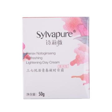 詩莉薇三七悅活青春凝時日霜(清潤型) 50g*1瓶