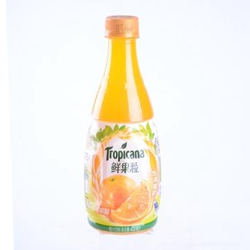 一心到家纯果乐鲜果粒橙汁420ml饱满果粒嚼得到冷风味更佳