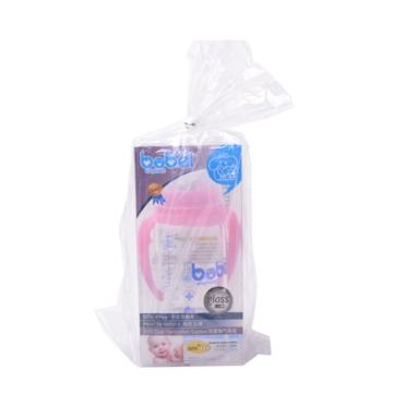邦贝小象 玻璃奶瓶 6m+ 适合新生儿造型 300ml BG1306