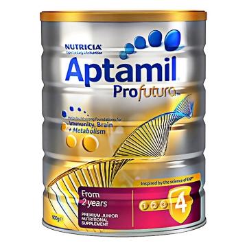 【澳洲直邮】Aptamil/爱他美白金版婴幼儿配方奶粉4段 2岁以上宝宝 900g*3罐 包邮