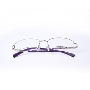 京典合金光学架明月常规变色非球面散光防辐射镜片 保护视力 第三方商家商品