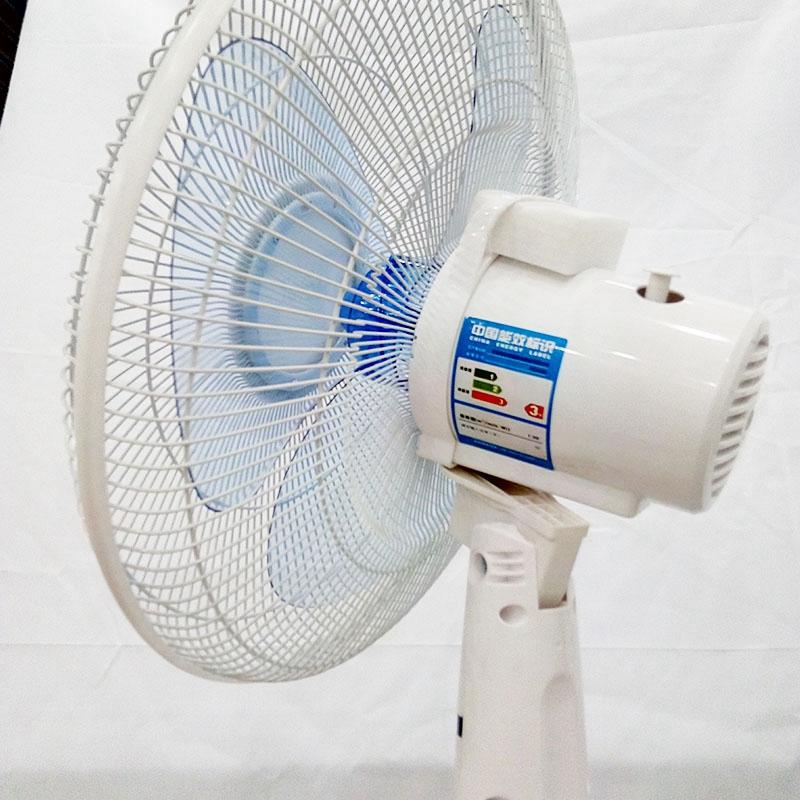 海尔fsj4090电风扇家用落地扇静音办公室宿舍摇头立式三档调节风扇