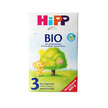 德国喜宝Hipp Bio有机奶粉3段 800g*2
