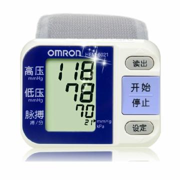 欧姆龙智能电子血压计 HEm-6021