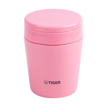 日本虎牌焖烧杯MCL-A038-PC粉色380mL