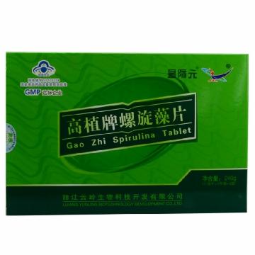 【瀚银通、健保通】星际元高植牌螺旋藻片 0.5g*12片*40袋